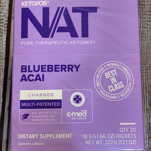 Charged Blueberry Açaí (Full box) Sealed